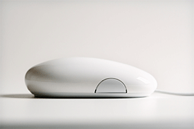 Computer mouse used to contact Mailrite for direct mail campaign information